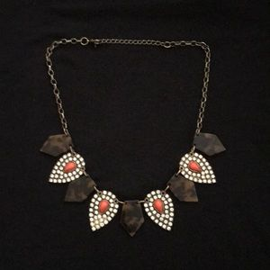 Sole society tortoise and coral Necklace